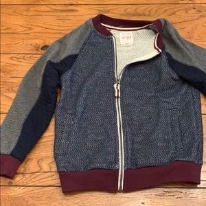 Cat & Jack ZIP Up Sweater Size Small